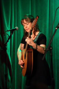 "Frances Cunningham at McGonigel's Mucky Duck, Houston TX – Photo by J. Thomas ""Jay"" Ford"