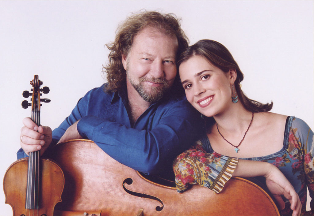 Alasdair Fraser and Natalie Haas