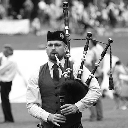 Annapolis Irish Festival Exhibition Piping Contest – Piper Jones